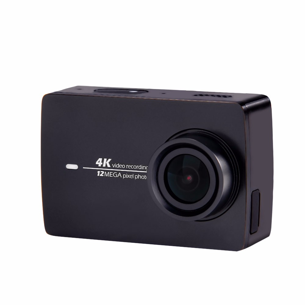 [International Edition] Xiaomi YI 4K Action Camera 2 Ambarella A9SE Xiaoyi Sports Camera II 2.19″ 155 Degree 12.0MP CMOS EIS LDC
