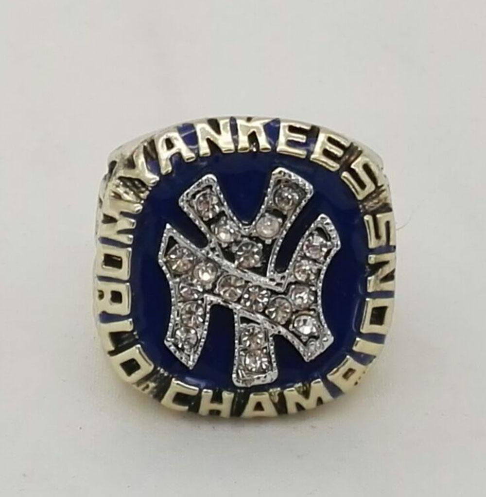 Wholesale 1977 New York Yankees Major League Baseball Zinc Alloy 24K gold Custom Sports Replica Fans world Championship Ring(China (Mainland))