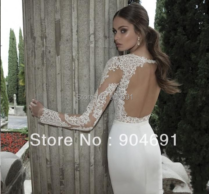 Lace tight fitting wedding dress for Tight fitting wedding dress