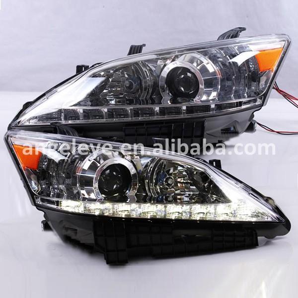 Lexus Es350 2012 >> Aliexpress.com : Buy 2007 to 2012 year For Lexus ES350 EX350 car led headlight Chrome housing ...