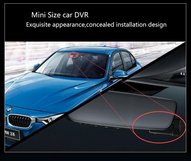 Mini WIFI Car DVR FHD1080P Camera Digital Registrar Video Recorder Dash Cam (9)