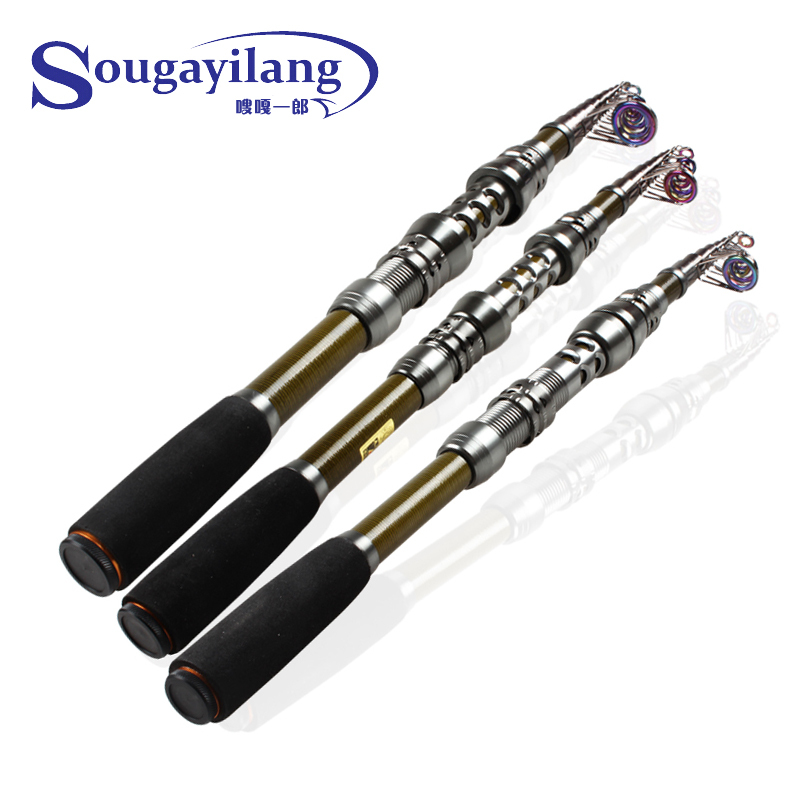 2015 new telescopic fishing rod fishing pole surf casting for Best surf fishing rods