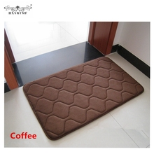 2016 New Stripe Coral Fleece Carpet Area Rug For Bathroom Kitchen Coral Fleece Carpet Non-Slip Carpets Door Mat Tapete Alfombra(China (Mainland))