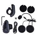 1200M Wireless Helmet Intercom Headset For Motorcycle 5 Riders Bluetooth Interphone Intercomunicador with FM Radio Moto