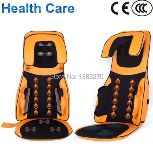 Auto Air Compression squeezing massage Top quality promotional hot electeric 3D massage cushion yellow(China (Mainland))