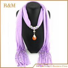 2015 New Arrival Charms Scarf jewellery Pendant Scarf Jewelry Scarves Necklace Scarf Free Shipping(China (Mainland))