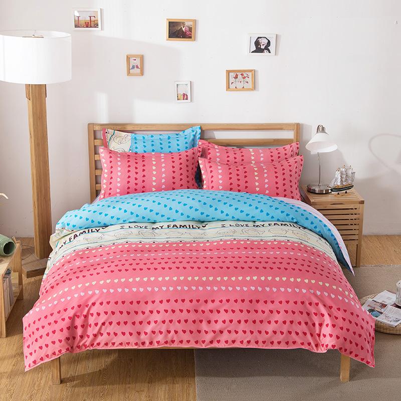 linge de lit housses de couette promotion achetez des linge de lit housses de couette. Black Bedroom Furniture Sets. Home Design Ideas