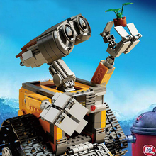 2016 Lepin 16003 Idea Robot WALL E Building Blocks Minifigures Bricks Blocks Toys for Children WALL-E Birthday Gifts(China (Mainland))