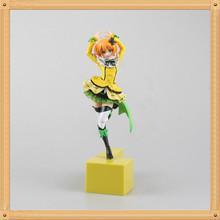 23cm Anime Action Figure Love Live! Rin Hoshizora PVC Figure Stronger Girl Gifts Limited Figurine