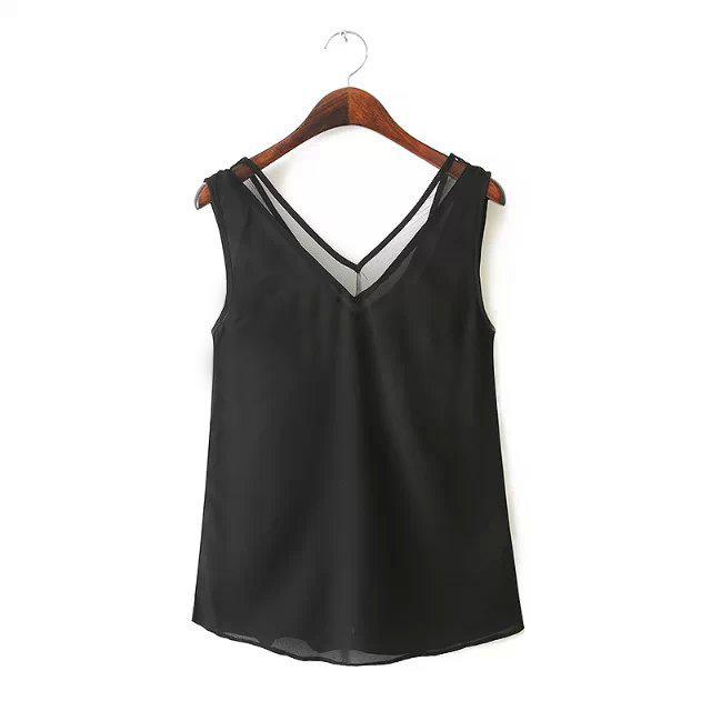 Womens V Neck T Shirt