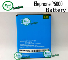 Elephone P6000 Battery 100% New Original 2700mAh 3.7V Li-polymer Battery Smart Mobile Phone bateria Batterij-In Stock+Track Code(China (Mainland))