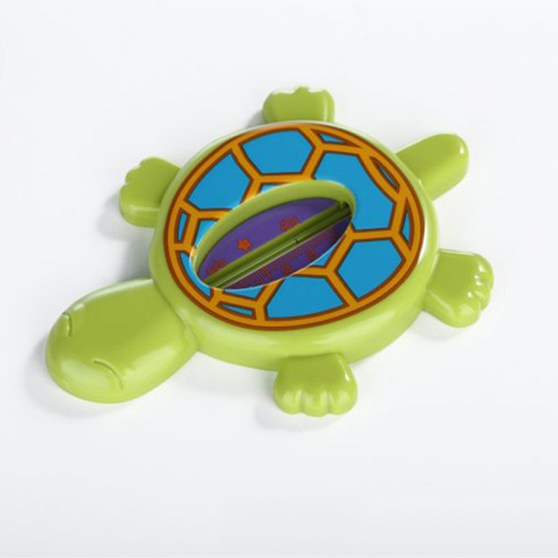 Floating Lovely Turtle Shape Water And Dry ABS Float Baby Bath Toy Thermometer Tub Watering Sensor Thermometers T0213(China (Mainland))