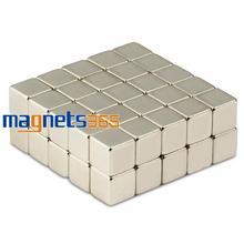 20pcs N50 Super Strong Block Cube 10mm x 10mm x 10mm Rare Earth Neodymium Magnet Free Shipping(China (Mainland))