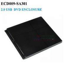 USB 2.0 Optical external dvd enclosure Case 12.7 mm SATA Optical Drive For laptop No Driver(China (Mainland))