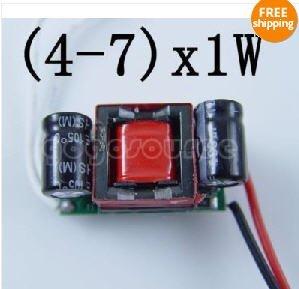 (4-7)*1w LED Driver Power Supply AC85V-265V For PAR20