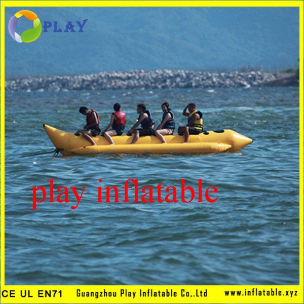 Play Factory Inflatable Water Banana Boat For Sale(China (Mainland))