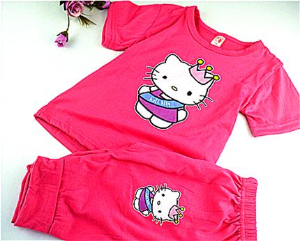 Гаджет  2015 summer style kids  family clothing baby girl  clothing set kid t shirt sets children kids sets girls free shippingKDST001-3 None Детские товары