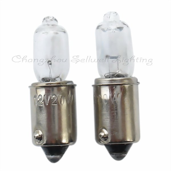 Free shipping GREAT!halogen bulb light 12v 20w ba9s A330(China (Mainland))