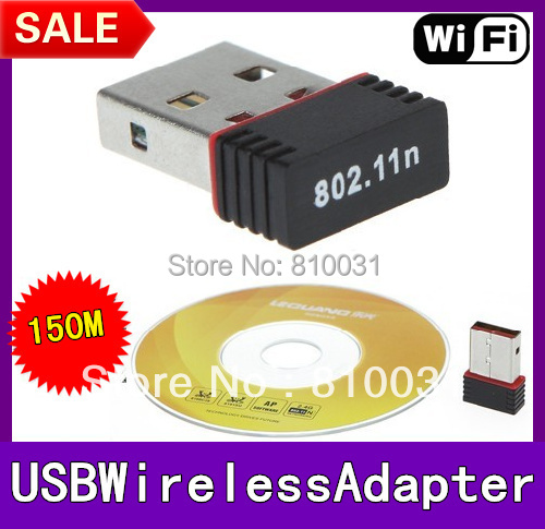 Mini 150M Wifi Wireless USB Adapter IEEE 802.11n LAN Network Card for Computer & Networking Drop Retail box+ Free Shipping(China (Mainland))