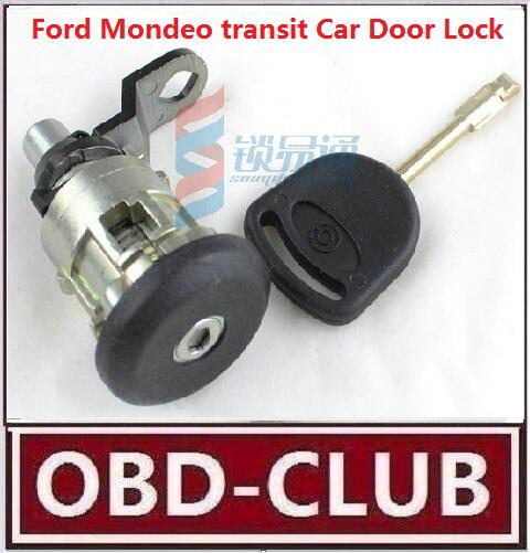 Best Quality ForFord Mondeo transit Car Door Lock Replacement With Key whole car lock practice Left door lock free shipping(China (Mainland))