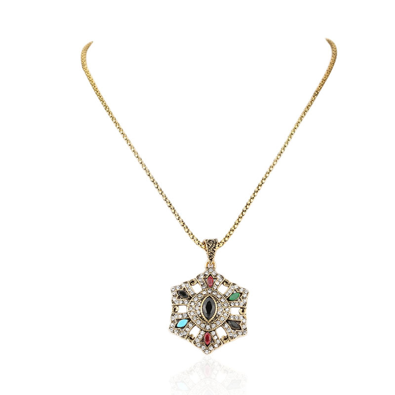 Butterfly Pendants Long Necklace For Women Crystal Multi Color Resin 18K Gold Jewelry Fashion Designer Accessories(China (Mainland))