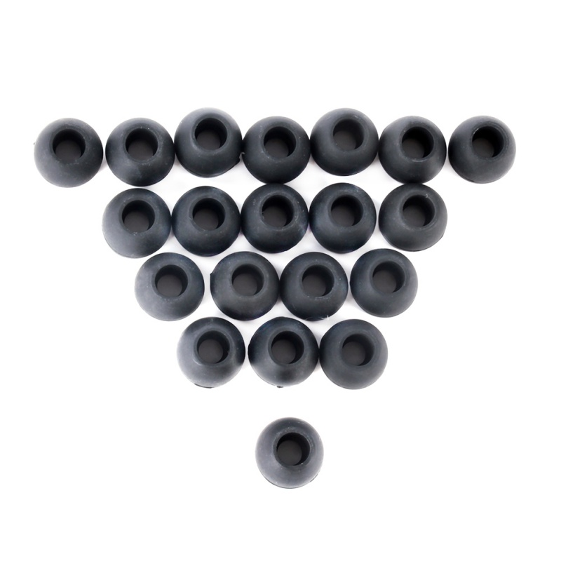 10 Pairs Black Large Replacement Silicone EARBUD Tips for In Ear Earphone<br><br>Aliexpress