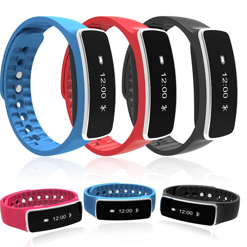 Smartband Bluetooth V5 Fitness Sports Tracker Waterproof Wristband Smart Wrist Bracelet Band Pedometer for IOS Android Xiaomi(China (Mainland))