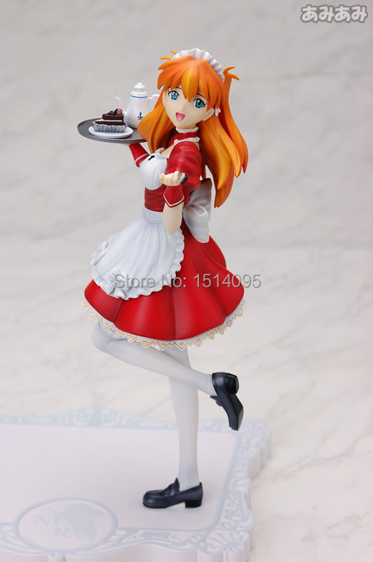 21CM Anime EVA Neon Genesis Evangelion Action Figure Soryu Asuka Langley PVC Figure Model Toy NG003