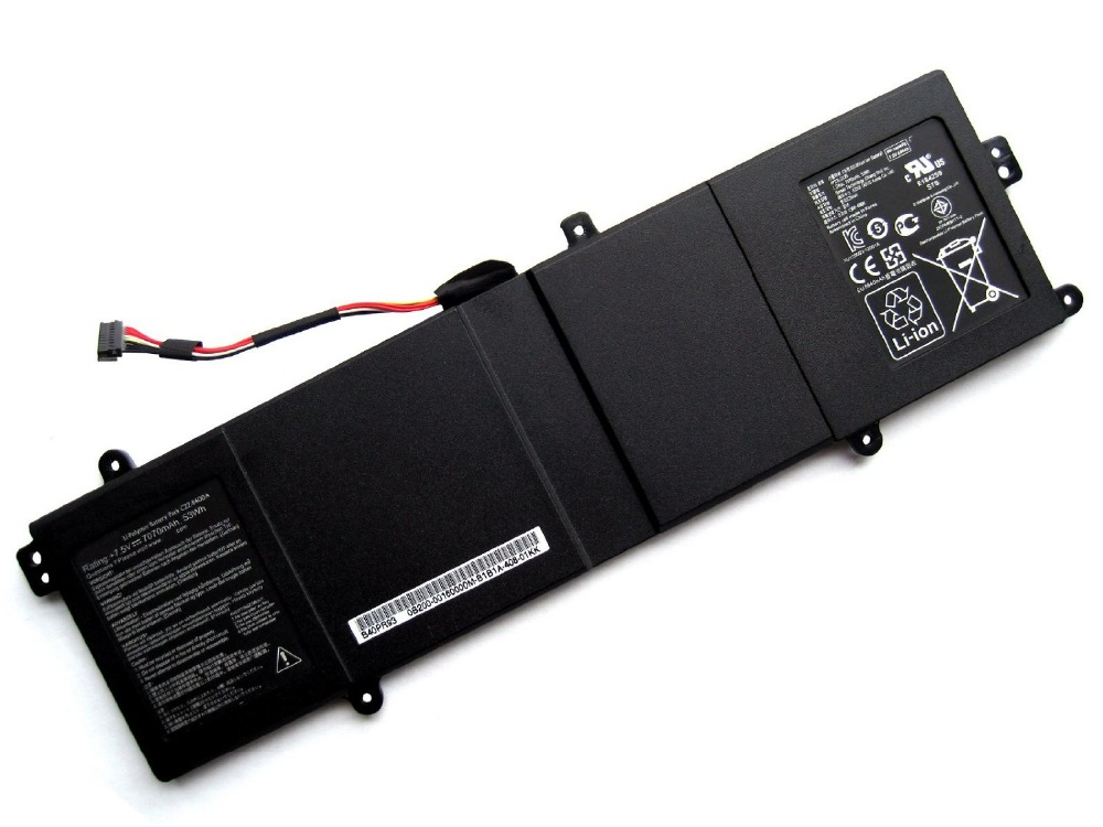 Фотография 50Wh Genuine C22-B400A Laptop Battery for ASUS PRO ADVANCED BU400V BU400A Ultrabook Series Built In Notebook Batteries