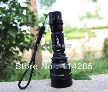 Extensive Life LED 10W Cree UltraFire C8 Q5  5-Mode 800LM Camping Led Flashlight Torch lighting Lamp(1*18650)