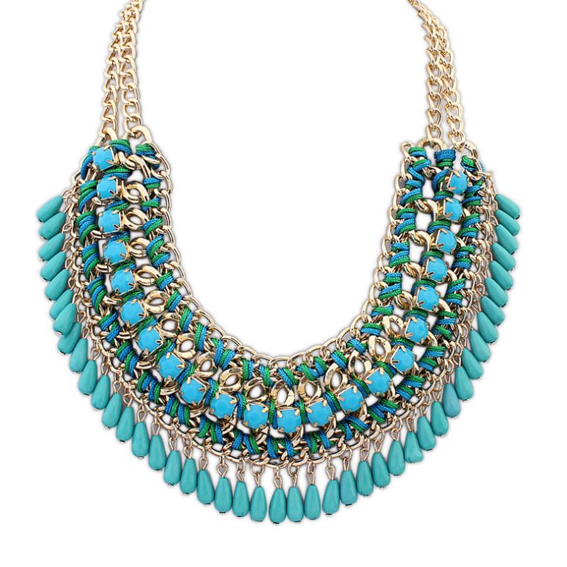 2015 selling zinc alloy chain best gift choker