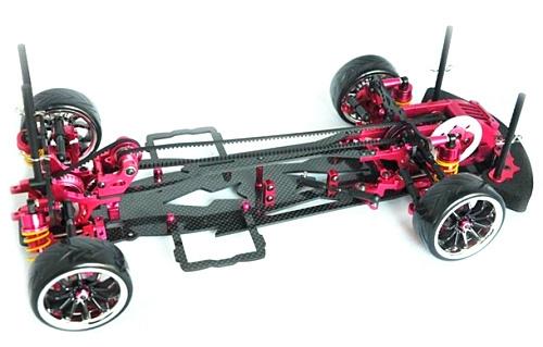 free shipping Alloy & Carbon SAKURA D3 CS 3R OP RC 1/10 4WD Drift Racing Car Frame Kit 1:10(China (Mainland))