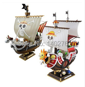 Merry Thousand Sunny Pirate One Piece Anime Cartoon Collection Figure PVC Action Figure Toys Dolls brinquedos With Retail box(China (Mainland))