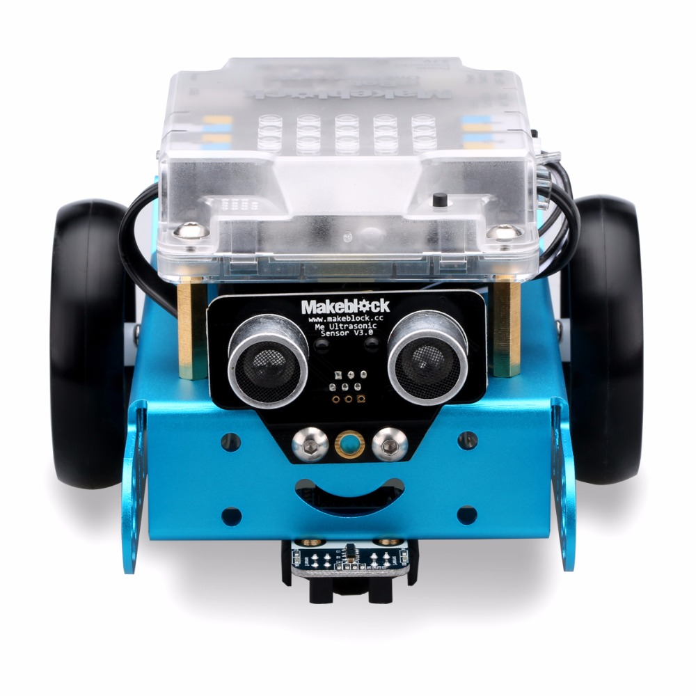 Makeblock MBot Upgrated Version DIY Mbot V1.1 Educational Robot Kit -Blue (Bluetooth Version) Best Gift for Children(China (Mainland))