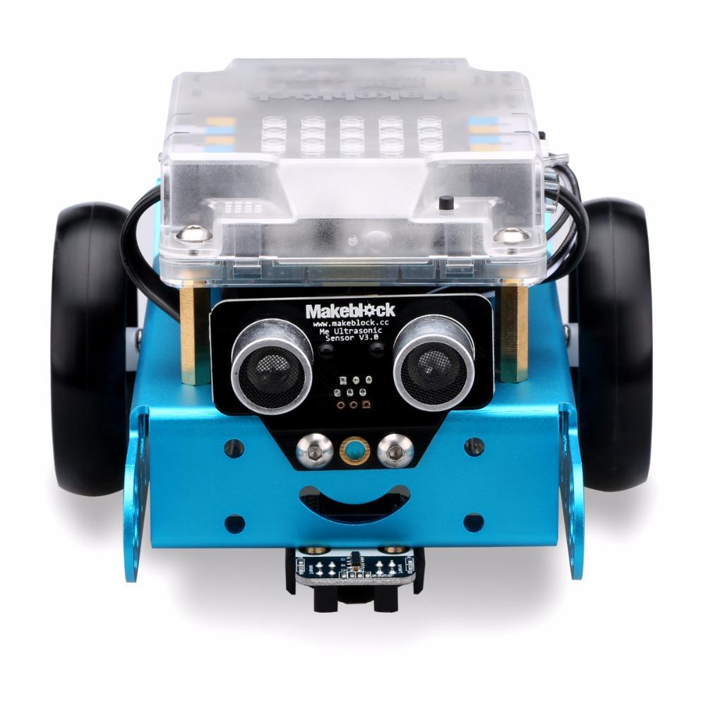 Makeblock MBot Upgrated Version DIY Mbot V1.1 Educational Robot Kit -Blue (Bluetooth Version) Best Gift for Children(China (Mainland))