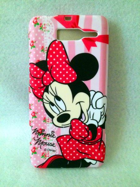 Cute cartoon Minnie shell for .Motorola RAZR i XT890  High Quality Cell Phone Case Silicone