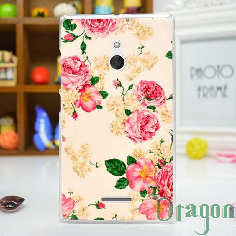 For Nokia XL 1pcs New Flower zebra Dog Aztec skull camo Minions Colored Paiting Plastic Hard back case skin cover For Nokia XL(China (Mainland))