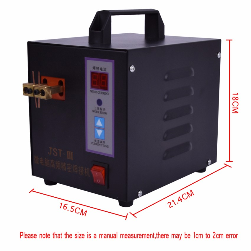 Free by DHL Spot Welder Machine Welding Laptop Battery Button battery Battery Pack Applicable Notebook and Phone Battery Welding