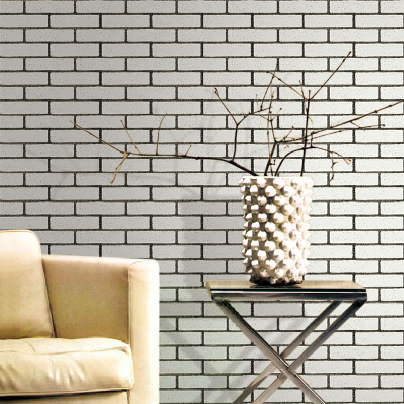 Fashion vintage brick stone 3d vinyl embossed wallpaper for 3d wallpaper for home singapore