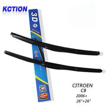 "Buy Car Windshield Wiper Blade Citroen C8 (2006+),26""+26"",Natural rubber, Three-segmental type, Car Accessories for $16.17 in AliExpress store"