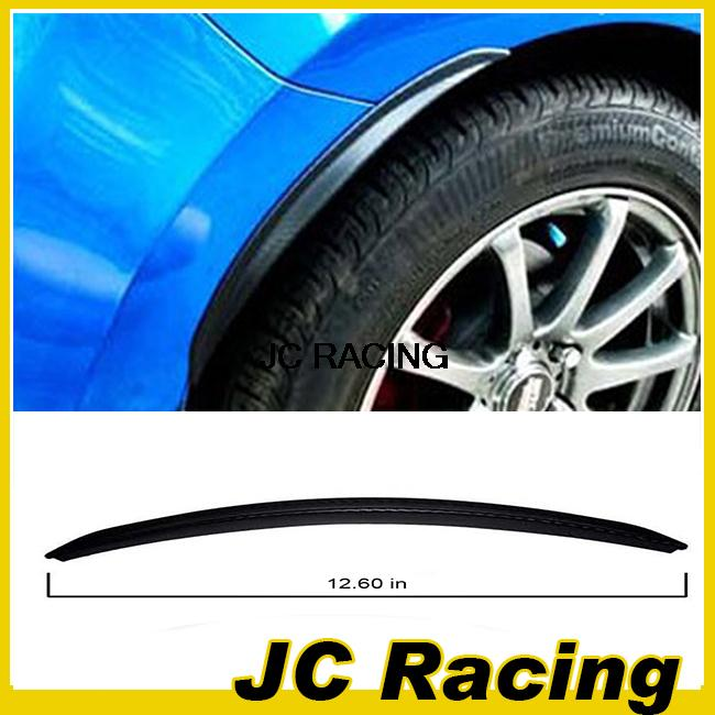 12.5 in 2PCS/SET Soft rubber Auto Car Wheel Arch Eyebrow Stripe ,Car Wheel Modling Trims For Cadillac universal Free shipping(China (Mainland))
