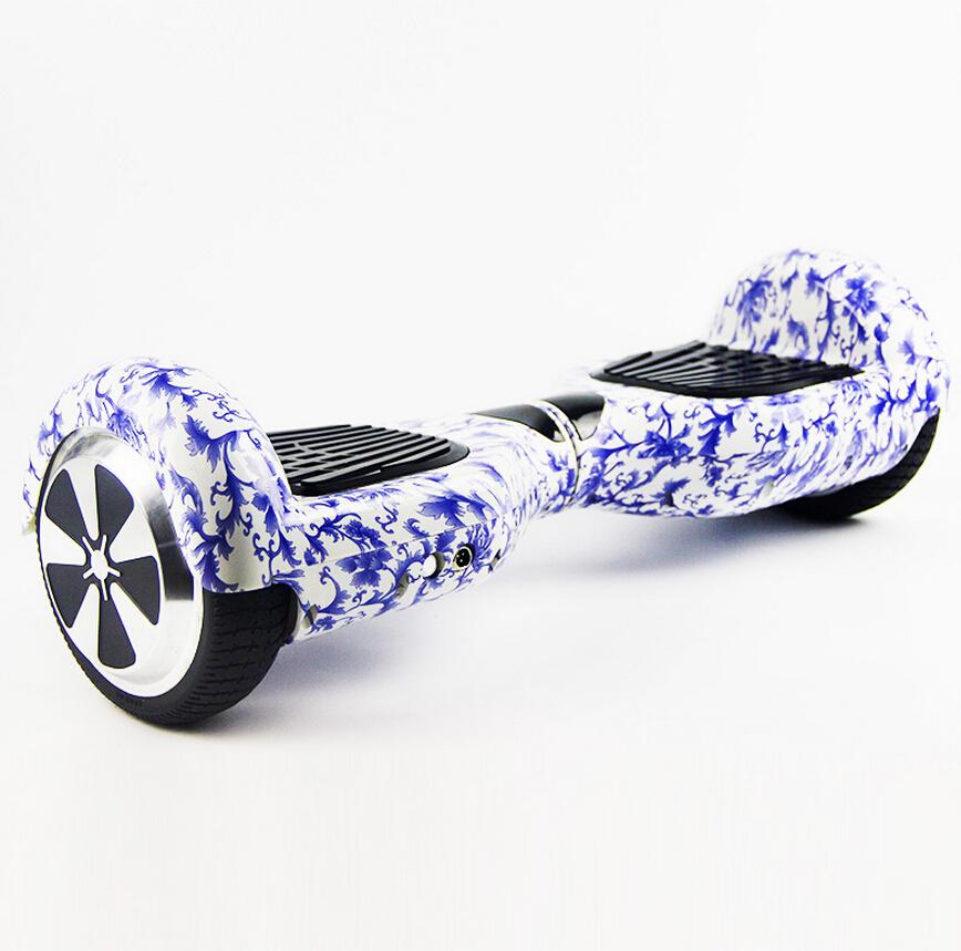 No Tax New color Self balancing scooter 6.5 inch hoverboard 4400mA+700W Skateboard <font><b>Smart</b></font> Balance <font><b>Board</b></font> 6J