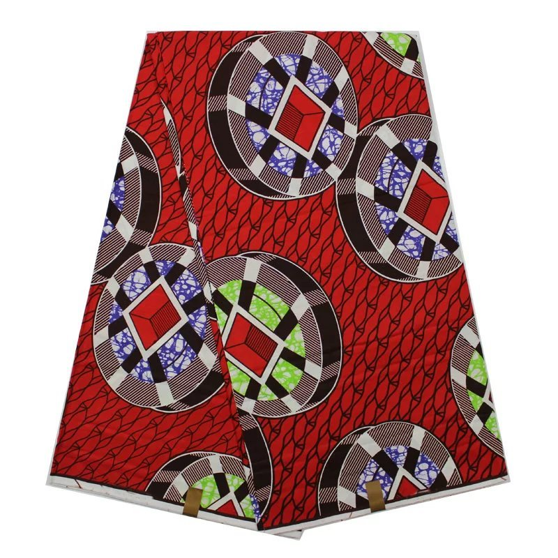 Cheap African Print material Ankara African Wax Print Fabric for Dresses African Fabric Real Wax Print Patchwork Fabrics(China (Mainland))