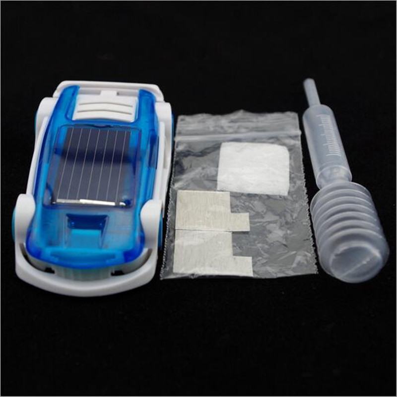 Wow!! Brine And Solar Dual Energy Power Car Brine Powered Car Solar Car Children Toy Kids Birthday Gifts(China (Mainland))