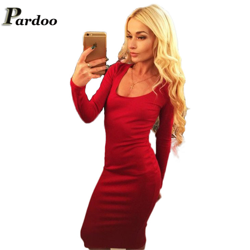 Sexy Evening Party Club Dress Women Backless Lace-Up Long Sleeve Womens Autumn Winter Skate Dresses Green Bodycon Bandage - Pardoo LLC store