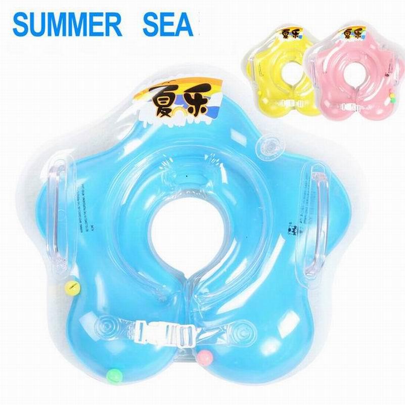 Kid Children Swimming Ring Seat Baby Inflatable Toy Circle Ring Safety Seat Float Water Swim Ring Swimming FG652D(China (Mainland))