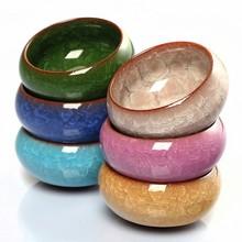 Multicolor Mini Round Ceramic Juicy Flowerpots Plants Flowers Vase Container Micro Garden Decoration Small Bonsai Pots
