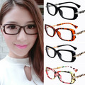 PUNK Unique bamboo shape men women eyeglasses frame metal high quality Spectacles black oval rectangle frames