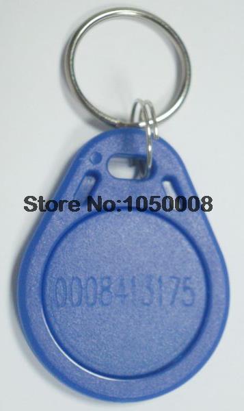 30pcs/bag 125Khz RFID Proximity EM ID Card Token TK4100 Tags Key Keyfobs for Access Control Time Attendance(China (Mainland))