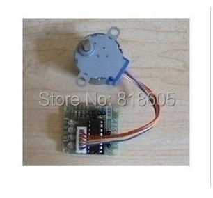 DC Gear Stepper Step Motor with ULN2003 Driver Board 5V 4 Phase 28YBJ-48 Free Shipping(China (Mainland))